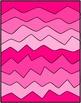 Crazy Wave Digital Paper Clip Art Set ~ Commercial Use ~ N