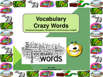 Vocabulary: Crazy Words