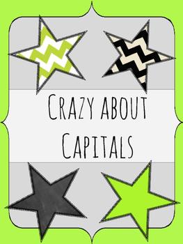 Crazy about Capitals - Capitalization Practice
