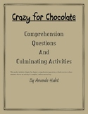 Crazy for Chocolate Comprehension Pack