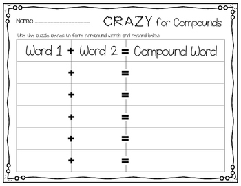 Crazy for Compounds