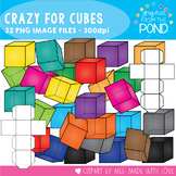 Cube Clipart {Crazy for Cubes}