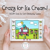 Crazy for Ice Cream: BOOM Cards for Early Developing Sounds