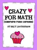 Crazy for Math {Valentine Math Centers}