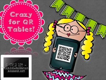 Crazy for QR Tables!!