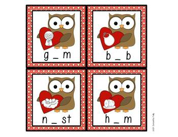 Valentine's Day Math and Literacy Stations