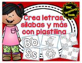 Crea letras, sílabas y más con plastilina-Letters, Syllabl