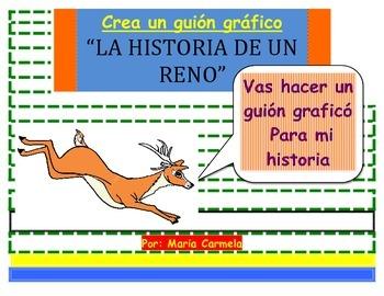 """Taller de escritores:  Crea una historia gráfica. """"La Historia de un Reno"""""""