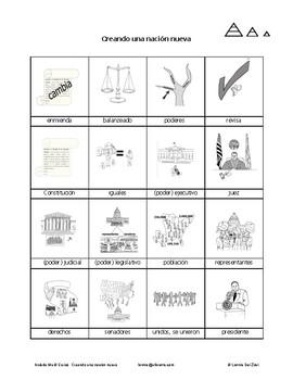 Creando una nación nueva en dibujos para estudiantes de ed. especial y ed. dual