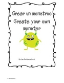 Crear un Monstruo Create a Monster and write about it in Spanish