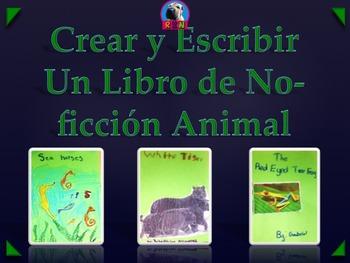 Crear y Escribir Un Libro de No-ficción Animal