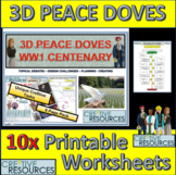 Create 3D Peace doves