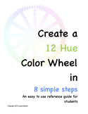 Create A 12 Hue Color Wheel in 8 Simple Steps
