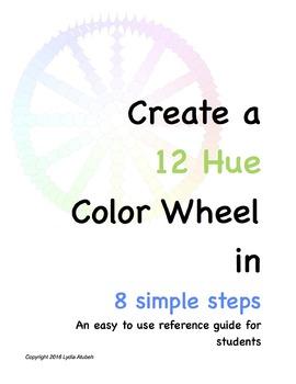 Create A 12 Hue Color Wheel in 8 Simple Steps