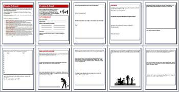 Create A Band - Media Literacy Project - Common Core aligned