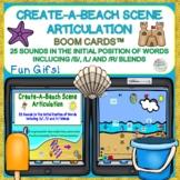 Create-A-Beach Scene Articulation Boom Cards™ 25 sounds +