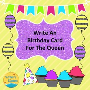 Create A Birthday Card For The Queen Fun Stuff Substitute Plan