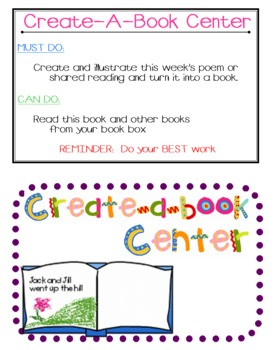 Create-A-Book Center