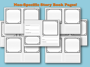 Create-A-Book Template!  Great End-of-the-Year Vocabulary Review!