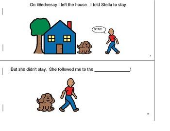 Create-A-Book: speech, articulation: l/st, pronouns