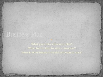 Create A Business: Project