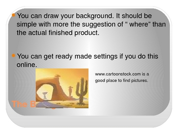 Create A Cartoon -To Show Learning