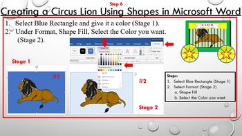 Create A Circus Lion Project