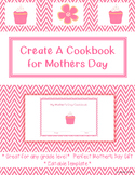 Create A Cookbook For Mothers Day