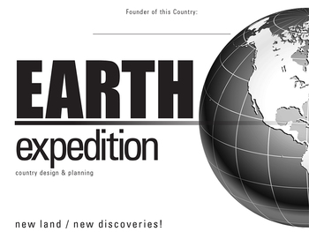 Earth Expedition: Create A Country Book