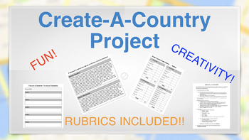 Create A Country Project