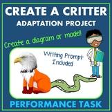 Create A Creature Animal Adaptation Ecosystem Performance Task Project