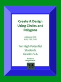 Create A Design Using Circles and Polygons
