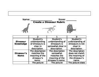 Create A Dinosaur