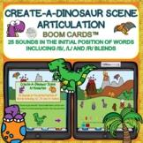 Create-A-Dinosaur Scene Articulation Boom Cards™ 25 sounds
