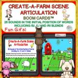 Create-A-Farm Scene Articulation Boom Cards™ 25 sounds + b
