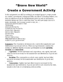Create A Government - Group Activity