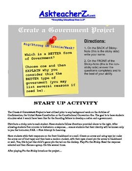 Create A Government Project