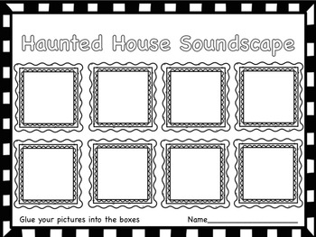 Create A Haunted House Soundscape - A Composition Activity for Young Learners