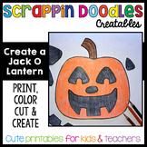 Create A Jack O Lantern Craft {Scrappin Doodles Creatables}