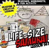 Create A Life Size Samurai and Haiku Battle Activity: Feudal Japan Lesson Plan