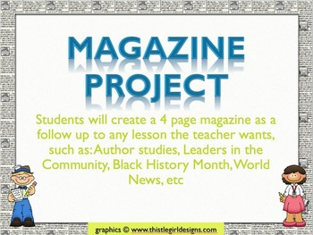Create-A-Magazine Project
