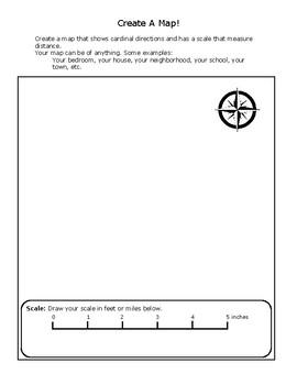 Create A Map Lesson
