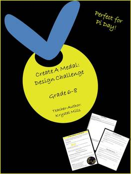 Create A Medal: Math Design Challenge for Circles (Perfect for Pi Day)