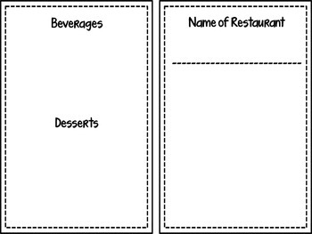 Create-A-Menu (Adjectives)