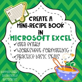 Create A Mini Recipe Book in Microsoft Excel