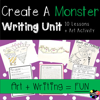 Create A Monster - Writing Unit