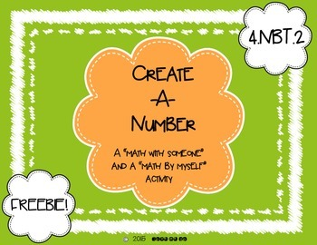 Create-A-Number *FREEBIE*