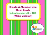 Create-A-Number Line Flash Cards