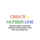 Create A Number Line with Positive and Negative Integers