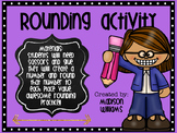 Create A Number Rounding Activity; No prep Rounding